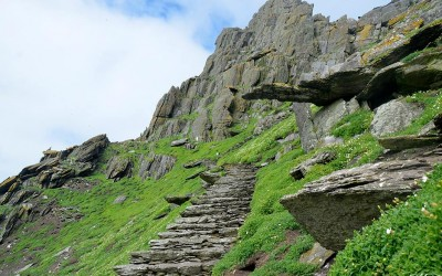 Skellig Michael, Ireland ~ An ancient planetary portal of light ~ Star Wars: Episode VII