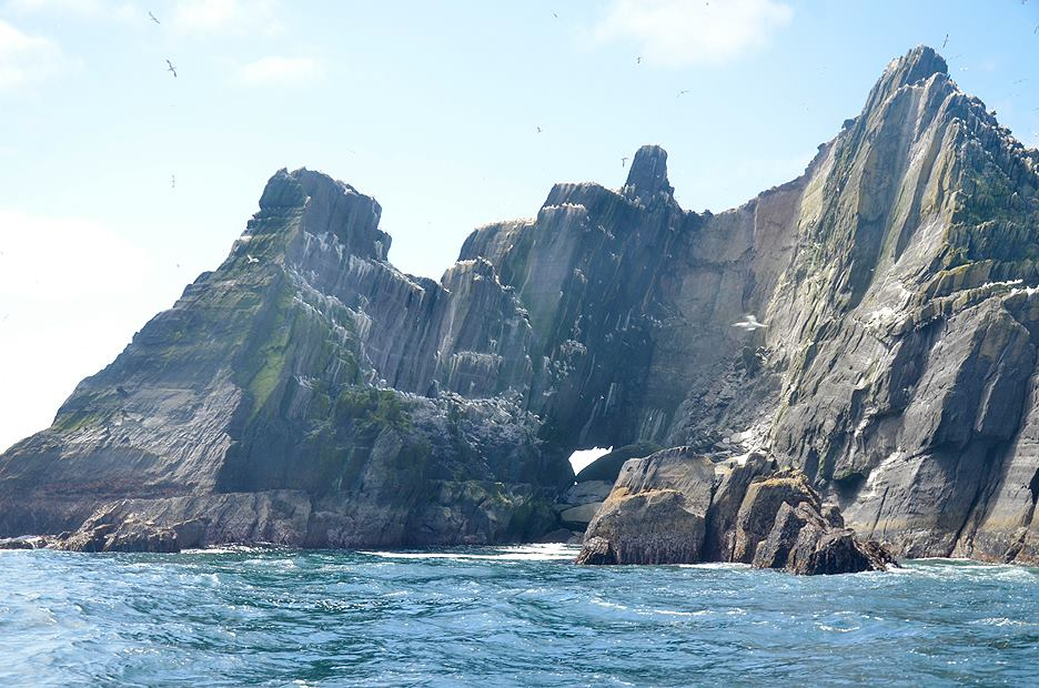 beautiful Little Skellig in ireland