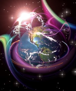 Energy Frequency Swirling Around Earth