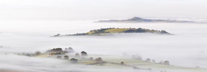 Glastonbury Mist on the Somerset