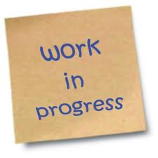 Work in Progress text
