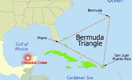 КАРТА ЧАКР ПЛАНЕТЫ ЗЕМЛЯ. Yucatan_Peninsula_Bermuda-Triangle_EarthVortex
