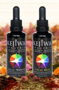 Bottles of vital woman tinctures