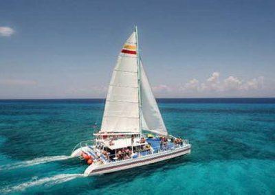 Catamaran and Snorkel