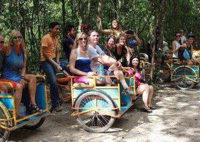 Coba Ruins Bicycles
