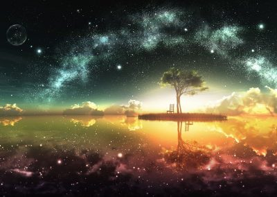 Lucid Dreaming Tree in Space