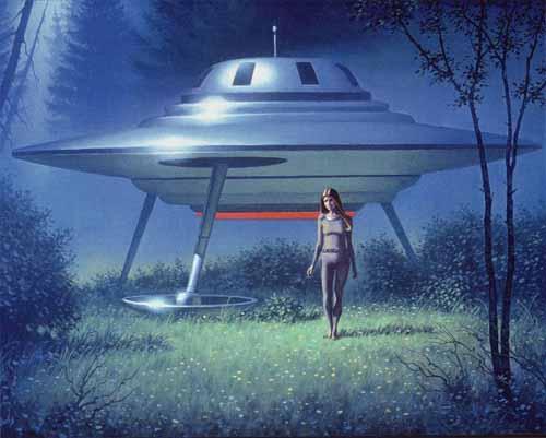 Pleiadian Spaceship