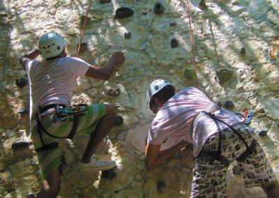 Selva Maya Rock Climb