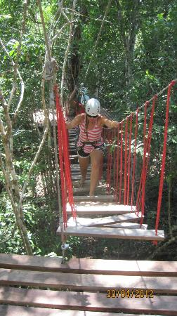 Selva Maya Rope Bridge