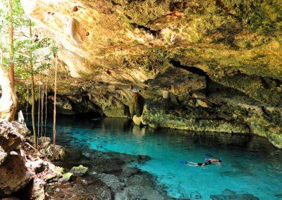 Snokeling in Tulum Cenote