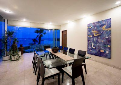 Villa Gauguin Dinning Room