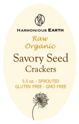 Savory Seed Front Label