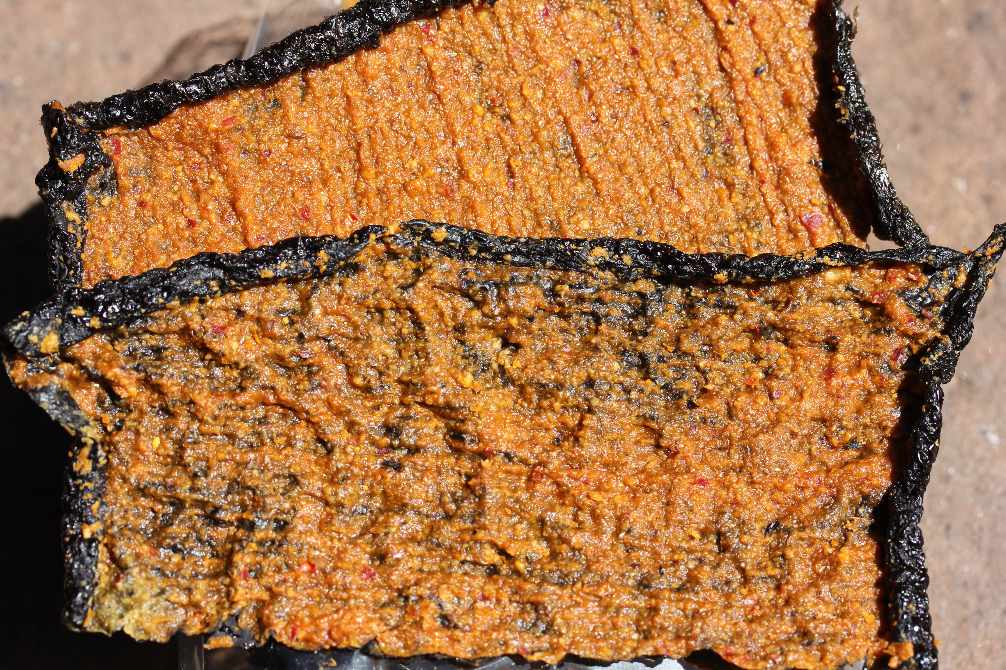 Spicy Nori Bites Closeup