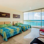 Villa Gauguin BR 2, second floor, two queen beds, private bath, ocean view