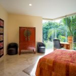 Villa Gauguin BR 5, first floor, one queen beds, private bath, shared shower, garden view